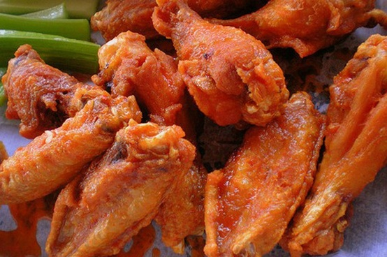 Restaurant Style Buffalo Chicken Wings Where Flours Bloom