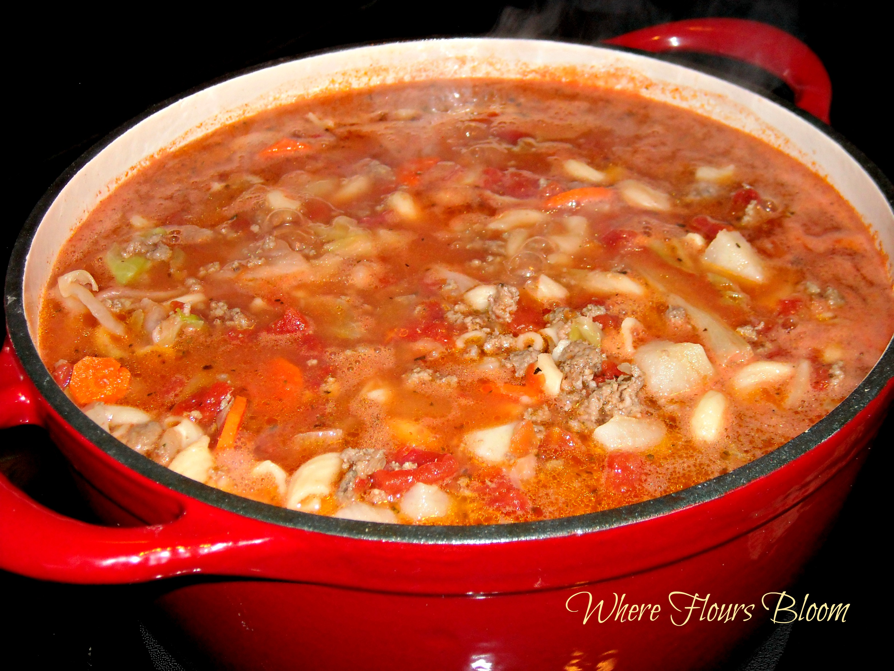 Ground Beef Vegetable Soup Hamburger vegetable soup