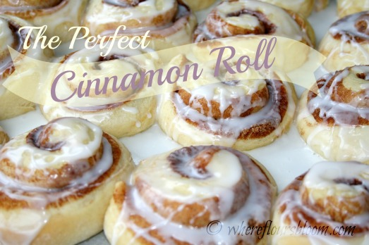 perfect cinnamon roll