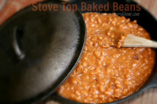 stove top baked beans