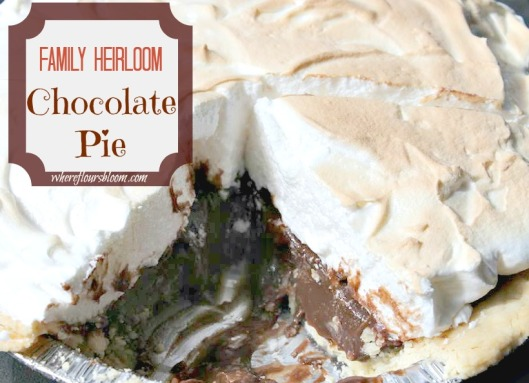 FH Chocolate Pie